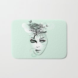 blue dream Bath Mat
