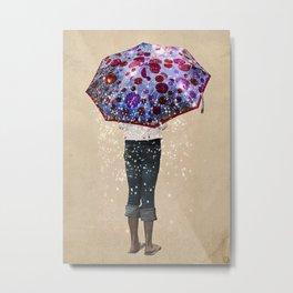 paraguas Metal Print