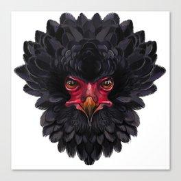 Black eagle Africa Canvas Print