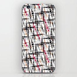 Stylish geometry. iPhone Skin