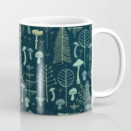 Magic Forest Green Coffee Mug