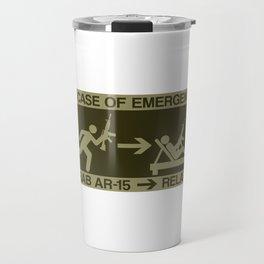 Emergency Prepper Gift Survivalist SHTF AR-15 Gift Travel Mug