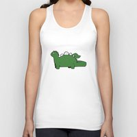 dino Tank Tops featuring Dino by Conrad