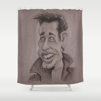 danny ivan Shower Curtains featuring Danny by chadizms