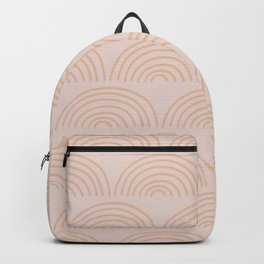 peach rainbows Backpack