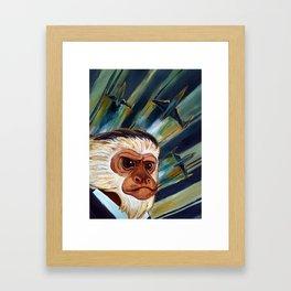 Commander Chim Chimp Framed Art Print