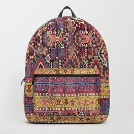 Kolyai Long Antique Persian Kurdish Rug Backpack