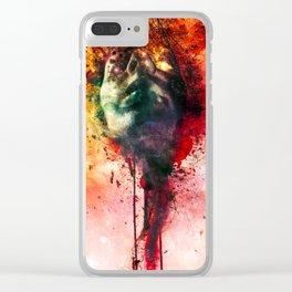 W.O.U.N.D.s Clear iPhone Case