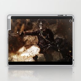 Victory is achieved throught mettle...  Laptop & iPad Skin