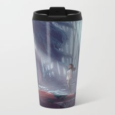 How to be a Werewolf: Malaya in the Forest Metal Travel Mug