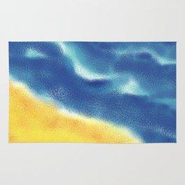 Sea, sand and surf Rug