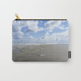 Cloudy seascape panorama Carry-All Pouch