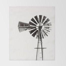 WINDMILL #3 Throw Blanket