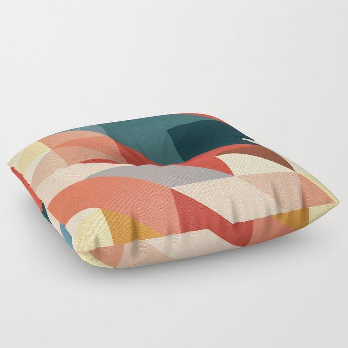 ABSTRACT 9D Floor Pillow