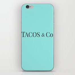 Tacos & co iPhone Skin