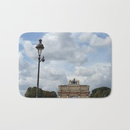 Arc du Carrousel Under the Sky Bath Mat