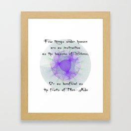 Mandala Astronomy Art Science Art Tao Teh Ching Framed Art Print