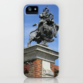 Lion at Hampton Court Palace iPhone Case