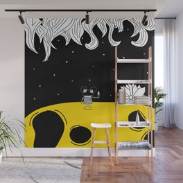Pija and Moon - Clean After Wall Mural