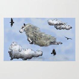 Flying sheep Rug
