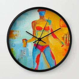 Girl Dance Summer Wall Clock