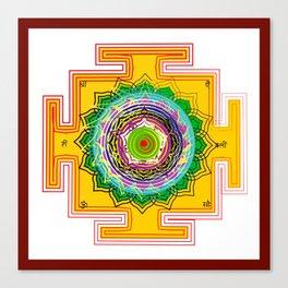 Love Yantra Canvas Print