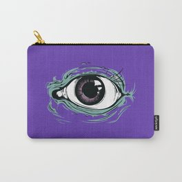 """""""I See You"""" Purple Pattern Carry-All Pouch"""