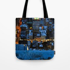 Don't Look Down - New York City Tote Bag