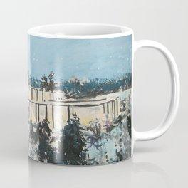 Atlanta Georgia LDS Temple Snowfall Coffee Mug