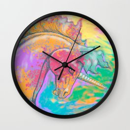 Otherworld Unicorns 1: Bright Unicorn Wall Clock
