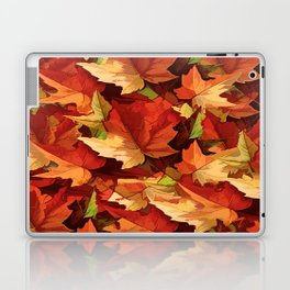 Autumn Leaves Abstract - Painterly Laptop & iPad Skin