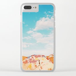Salvation Mountain, California Clear iPhone Case