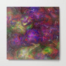 Abstract Blob 1 Metal Print