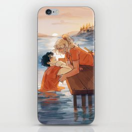 at the shore iPhone Skin
