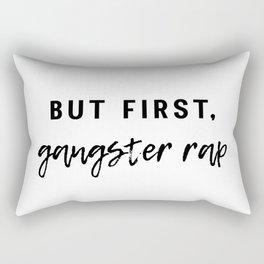 Gangster Rap Rectangular Pillow