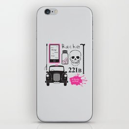 Sherlock - A Study in Pink iPhone Skin