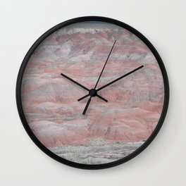 Painted Desert #1, Arizona, Landscape Wall Clock