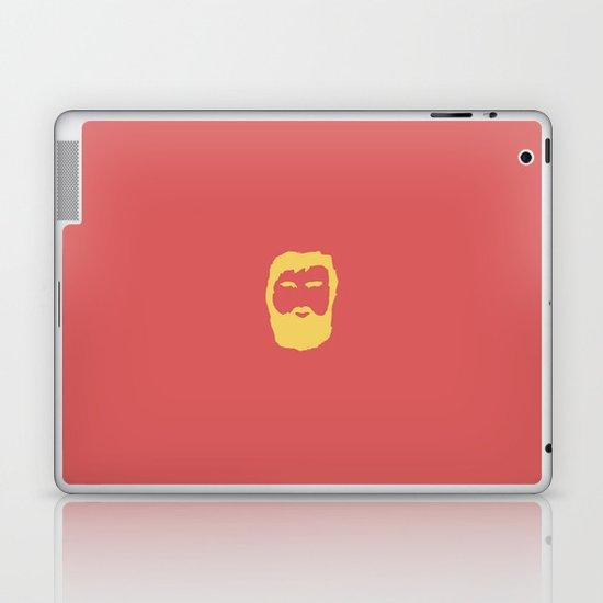 The Beard Laptop & iPad Skin