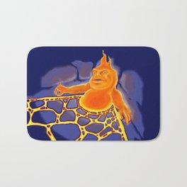 Monster of the week: Fire Sprite Bath Mat