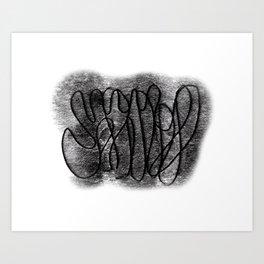 Circles°12 Art Print