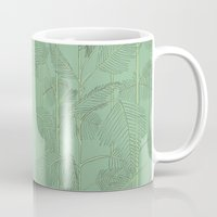 palms Mugs featuring Palms by Robert Høyem
