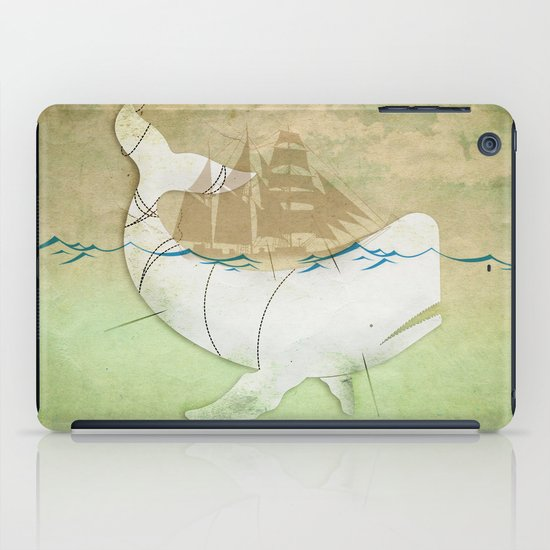 The ghost of Captain Ahab  iPad Case