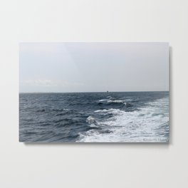 Boat Ride Metal Print