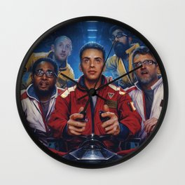 The Incredible True Story Wall Clock
