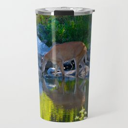 Deer Reflections Travel Mug