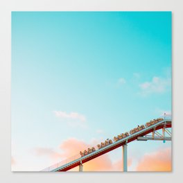 Up Into the Cotton Candy Canvas Print