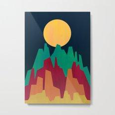 Rocky Landscape Metal Print