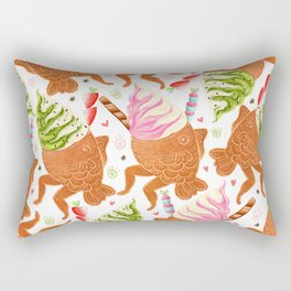 Taiyaki Mermaids Rectangular Pillow