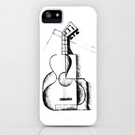 The Guitar, Cubist Juan Gris 1912 T Shirt, Art Reproduction iPhone Case