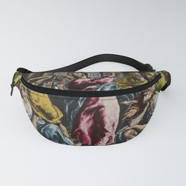 "El Greco (Domenikos Theotokopoulos) ""Purification of the Temple"" Fanny Pack"